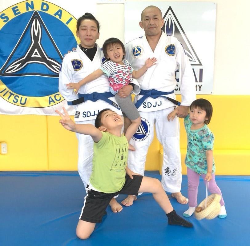 仙台 柔術 家族 趣味